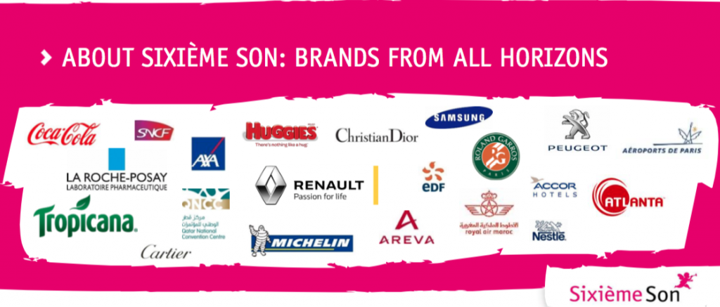 soundbranding sixieme son partner up so expertise form these brands may serve future clients worldwide